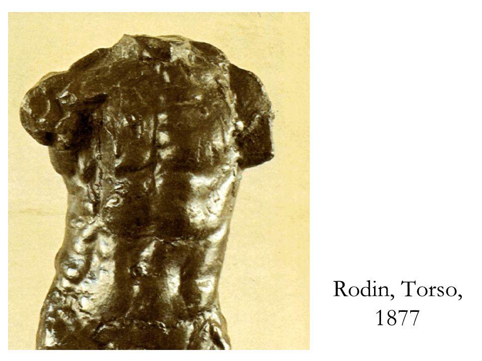 Rodin, Torso, 1877