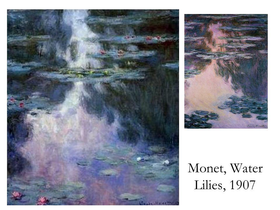 Monet, Water Lilies, 1907