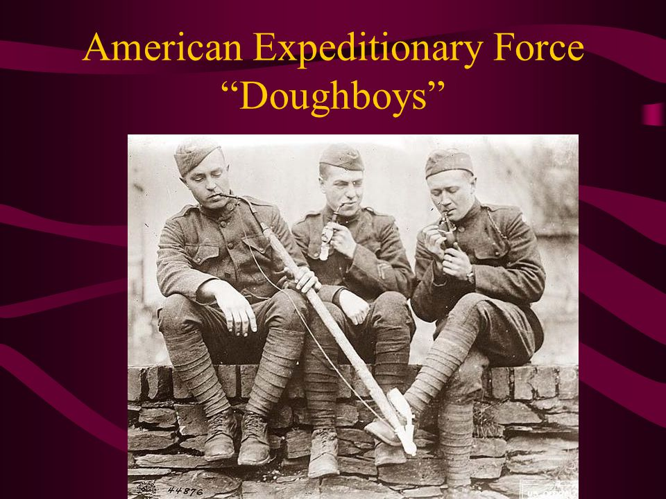 American Expeditionary Force Doughboys