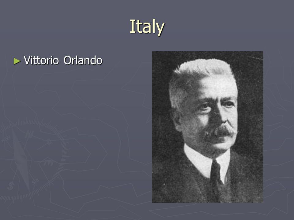 Italy ► Vittorio Orlando