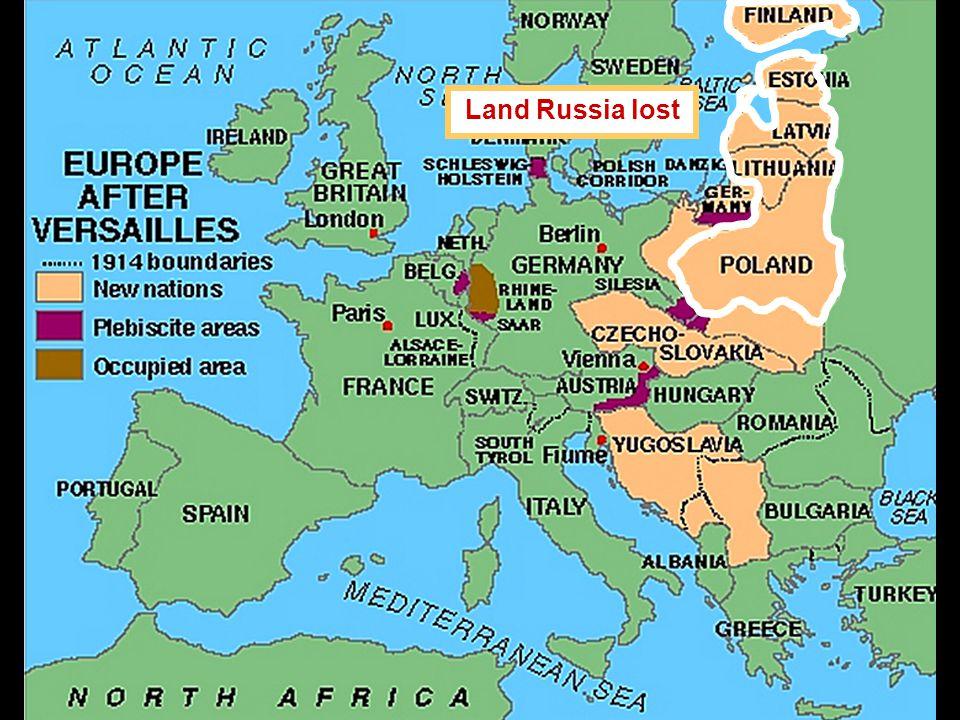 Land Russia lost