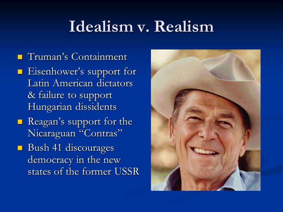 Idealism v.