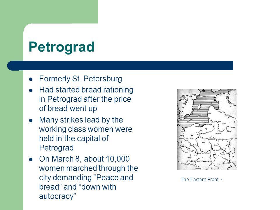 Petrograd Formerly St.