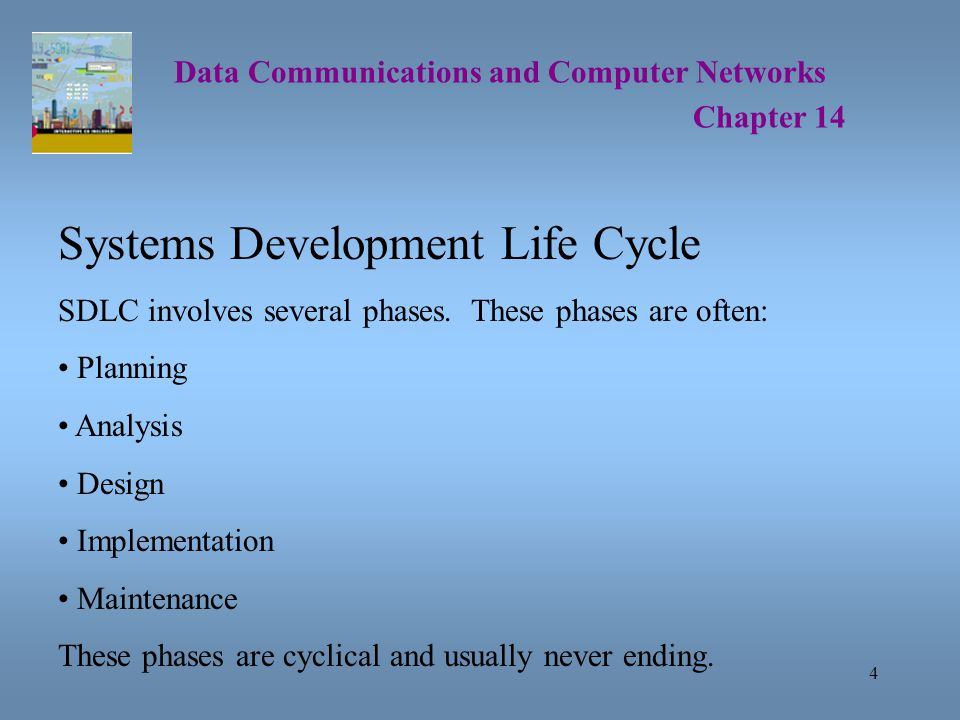 25 Data Communications and Computer Networks Chapter 14 Capacity Planning Capacity planning involves trying to determine the amount of network bandwidth necessary to support an application or a set of applications.