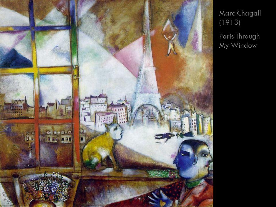 Marc Chagall (1913) Paris Through My Window