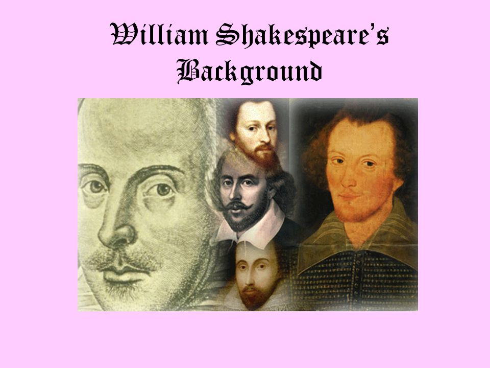 William Shakespeare, who is often referred to as the Bard, which merely means poet, was born in the year 1564 in Stratford- upon-Avon, which is a town in England.