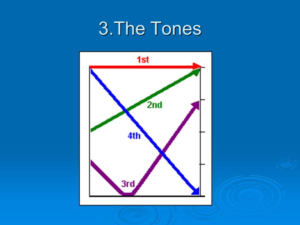 3.The Tones