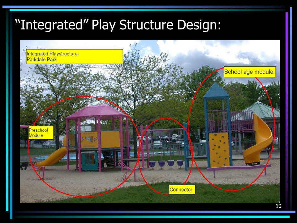 12 Integrated Play Structure Design: