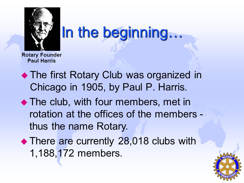 PHF & Benefactors u Many _your club s name_ Rotarians and spouses are Benefactors of the Permanent Fund.