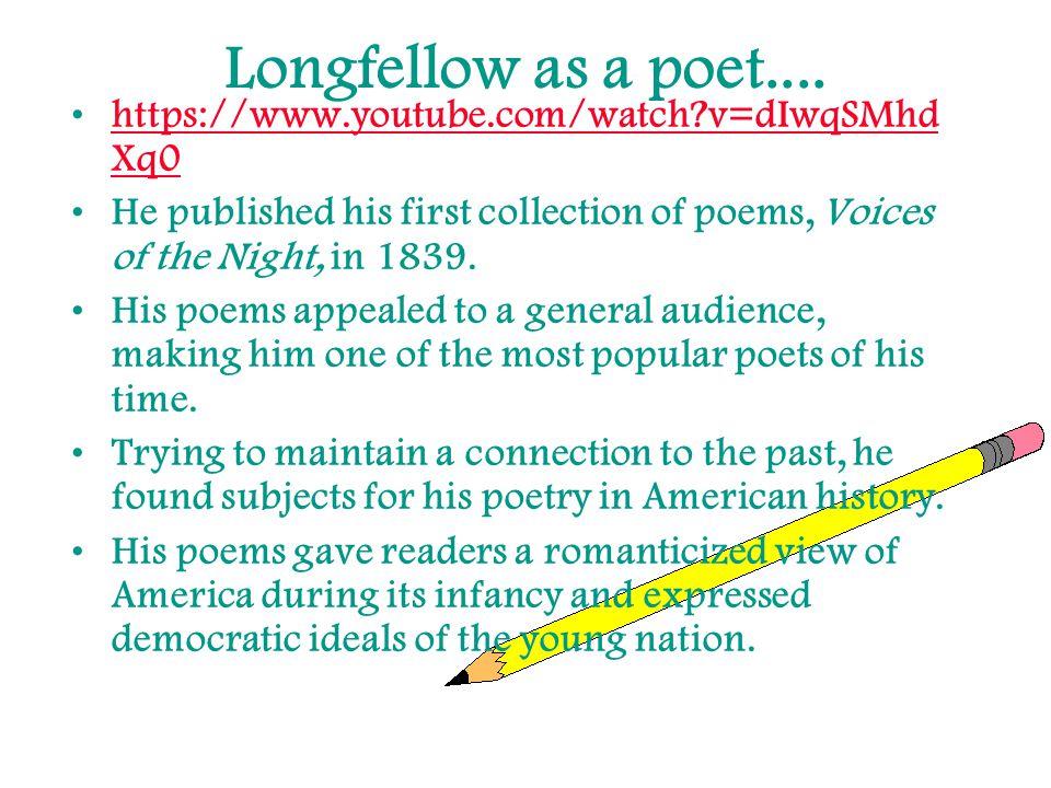 Longfellow as a poet....