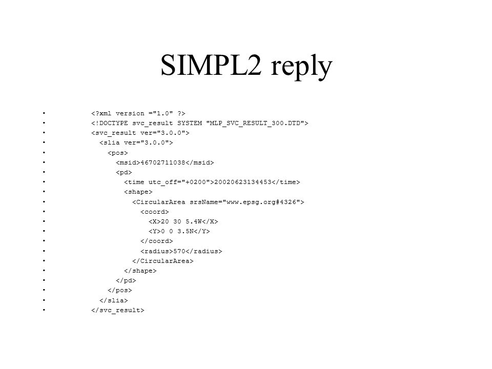 SIMPL2 request application_4 secret 46702711038 4326 www.epsg.org 6.1