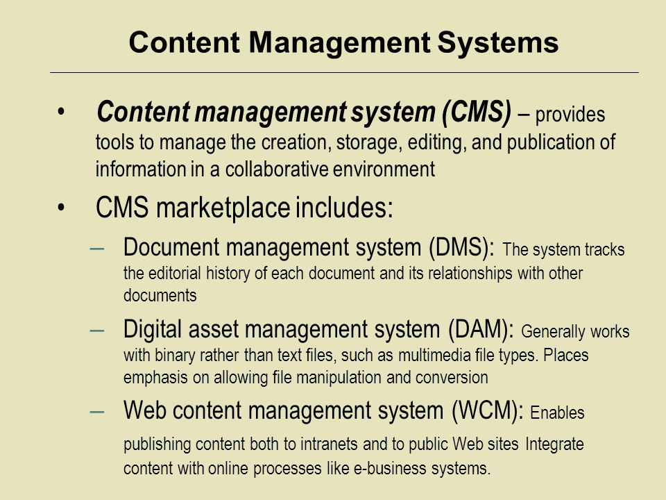Knowledge Management Systems Why organizations launch knowledge management programs