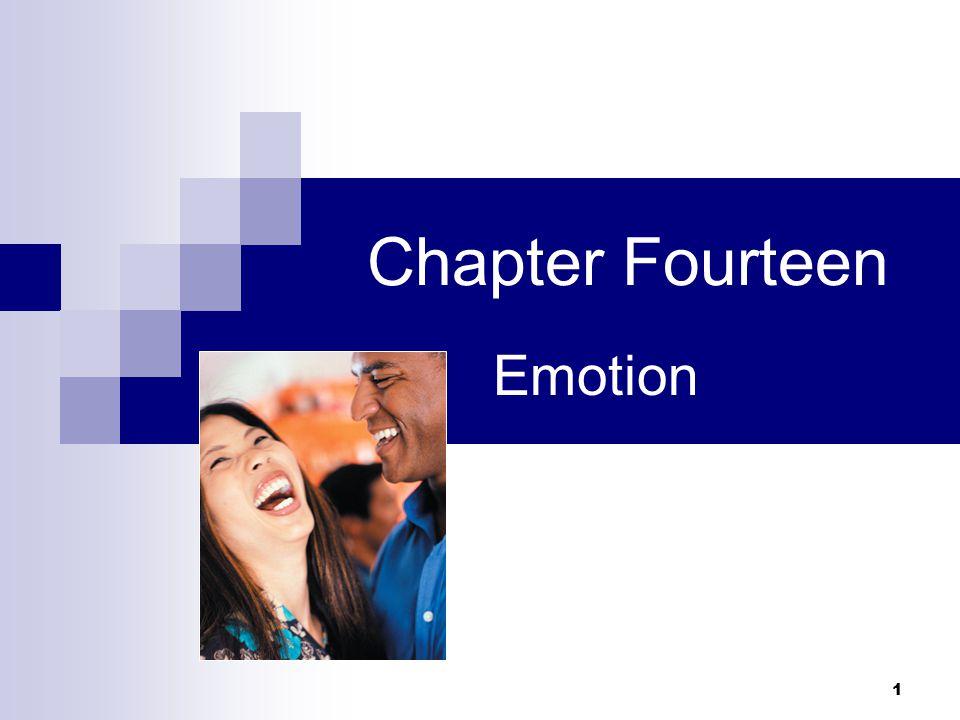 1 Chapter Fourteen Emotion