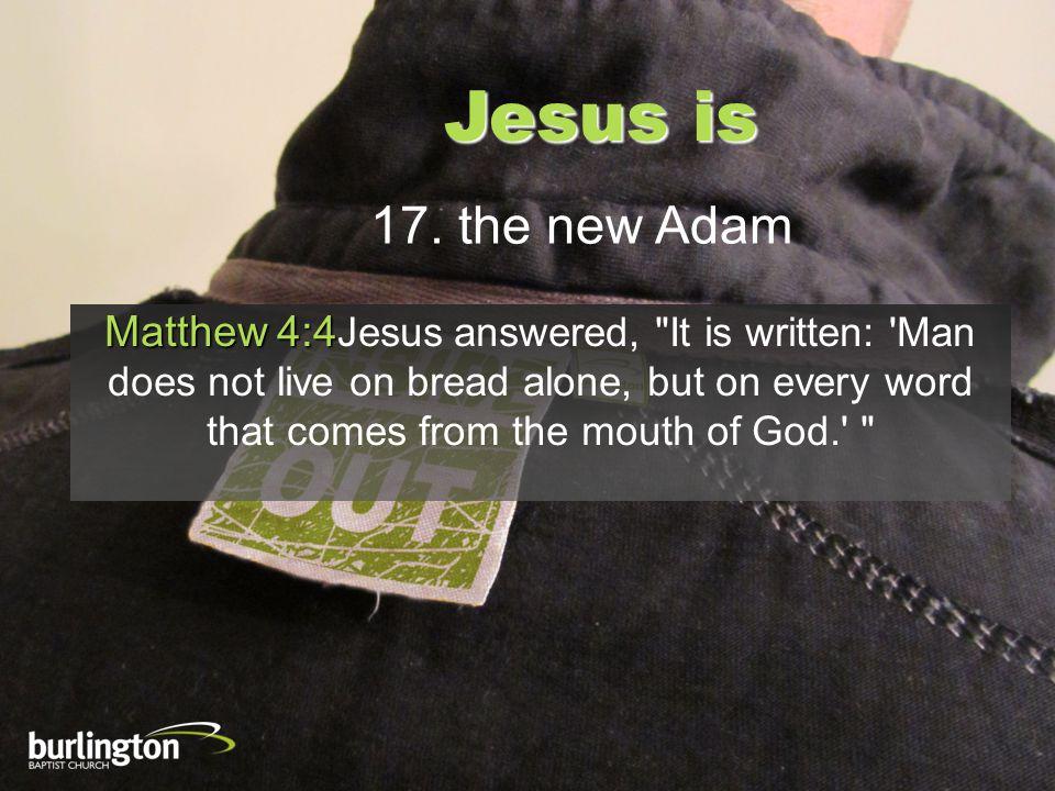 Jesus is 17.
