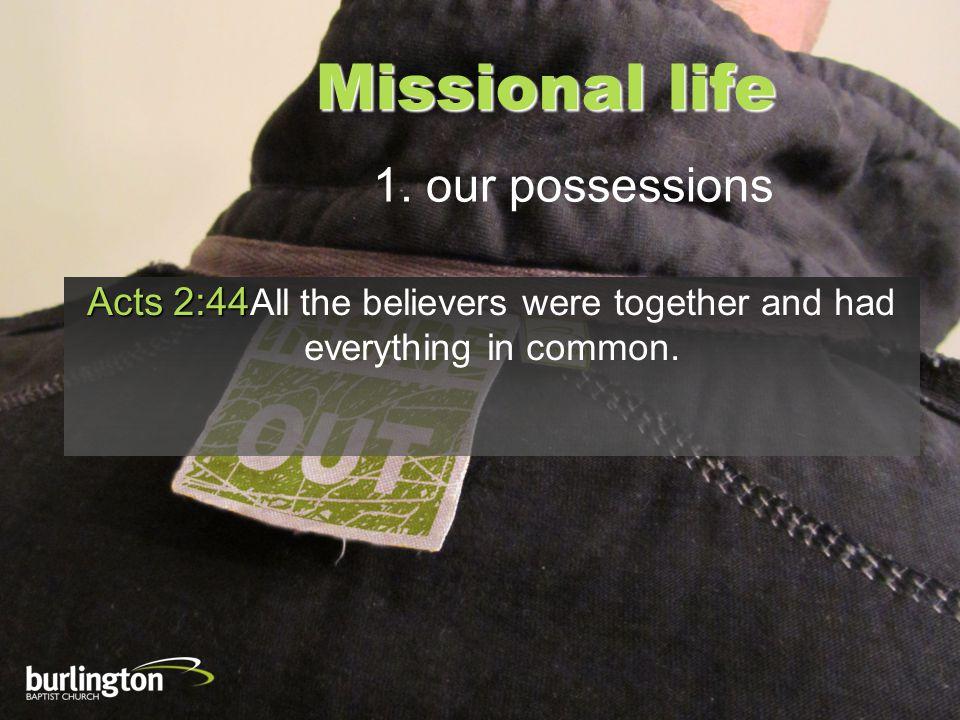 Missional life 1.