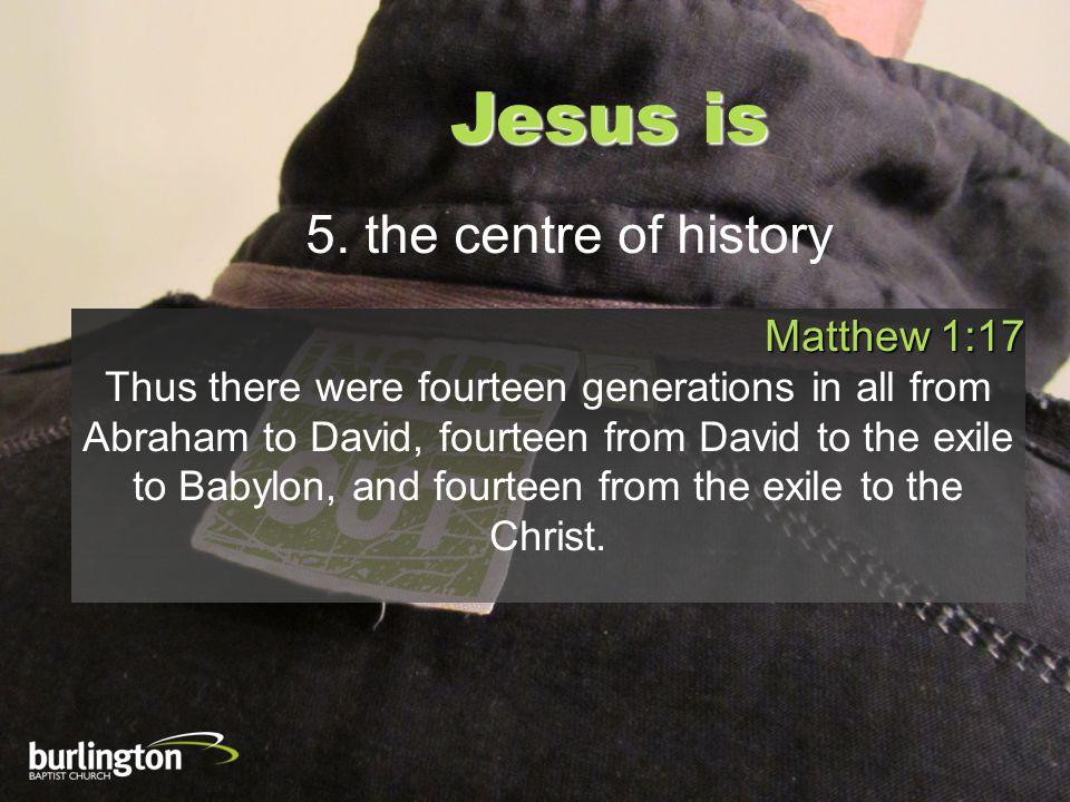 Jesus is 16.