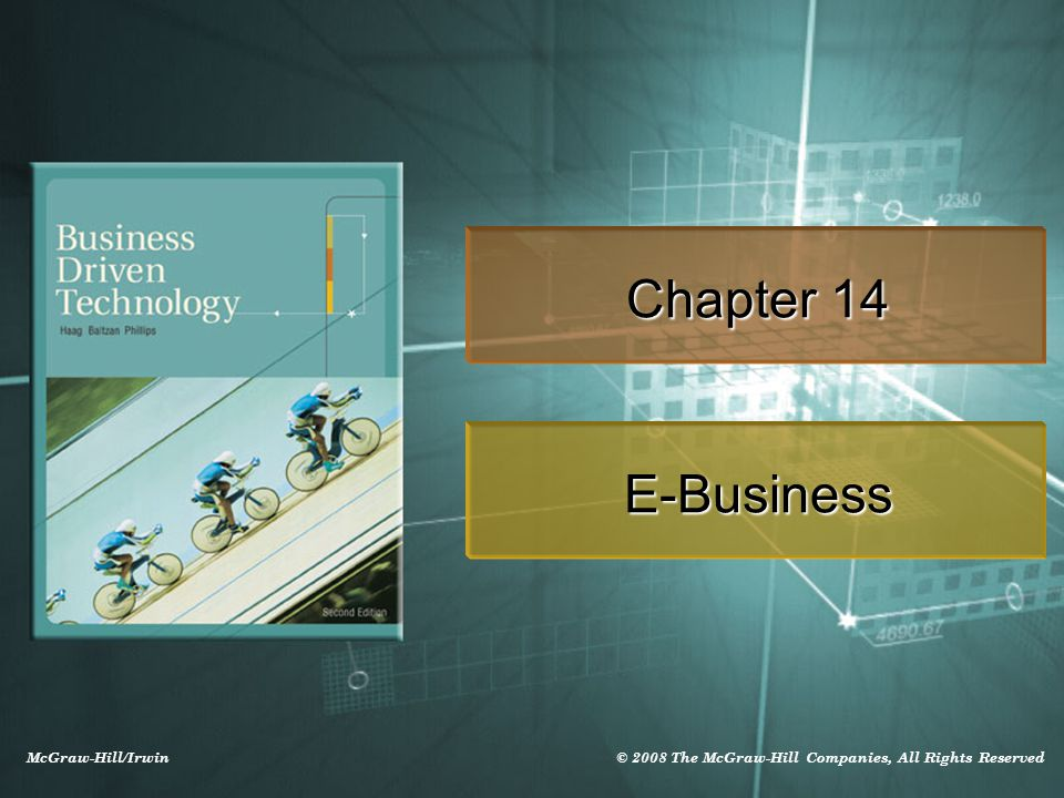 14-2 Learning Outcomes 14.1 Compare e-commerce and e-business 14.2 Compare the four types of e-business models 14.3 Describe the benefits and challenges associated with e-business 14.4 Explain the differences among e-shops, e- malls, and online auctions