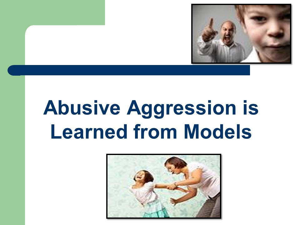Abusive Aggression is Learned from Models