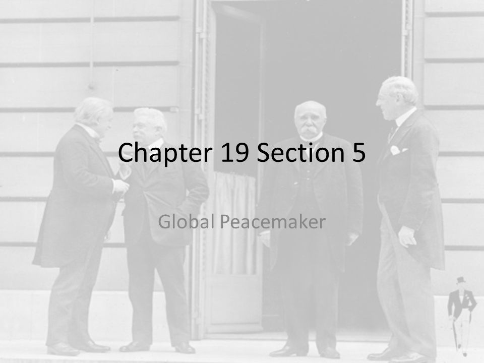 Fourteen Points Woodrow Wilson's plans to restore peace to the world – 1 st 5 dealt with what he believed caused the war – 6-13 deal with boundary changes – 14 is the League of Nations