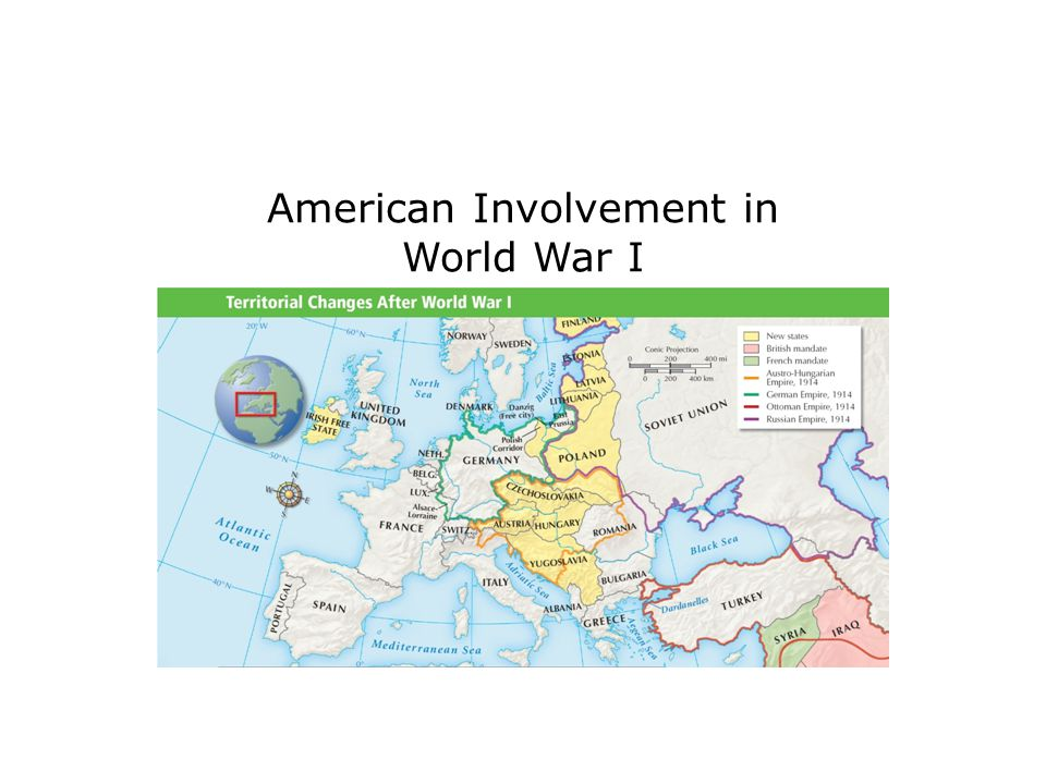 American Involvement in World War I