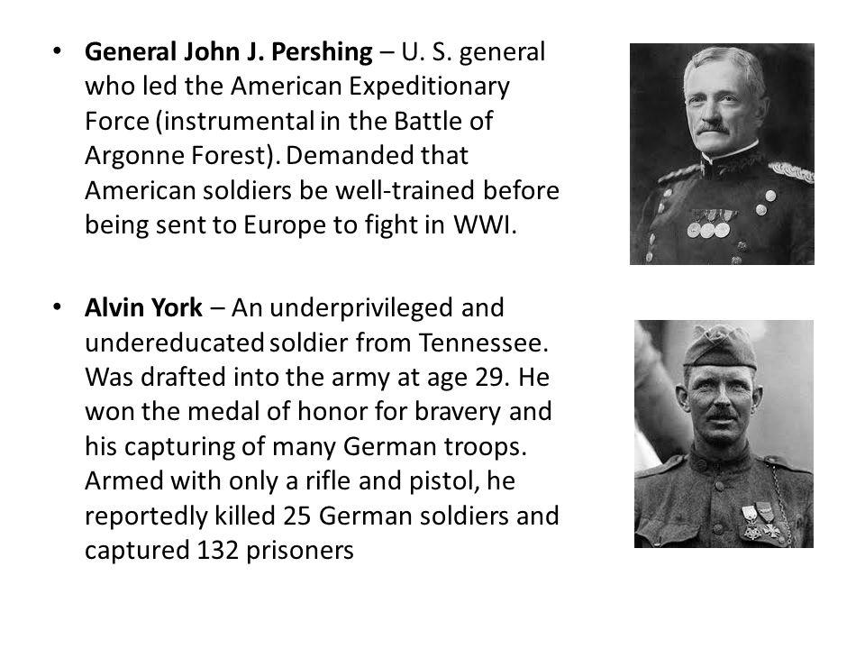 General John J. Pershing – U. S.