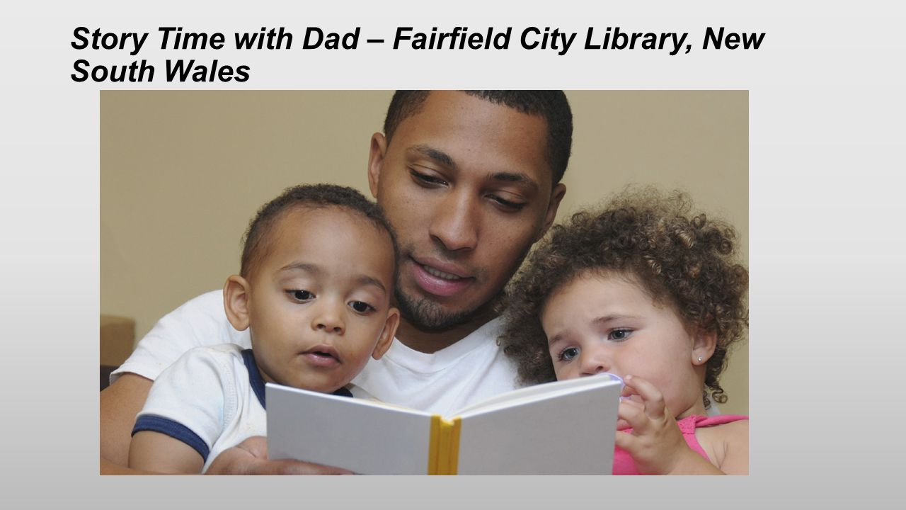 Story Time with Dad – Fairfield City Library, New South Wales