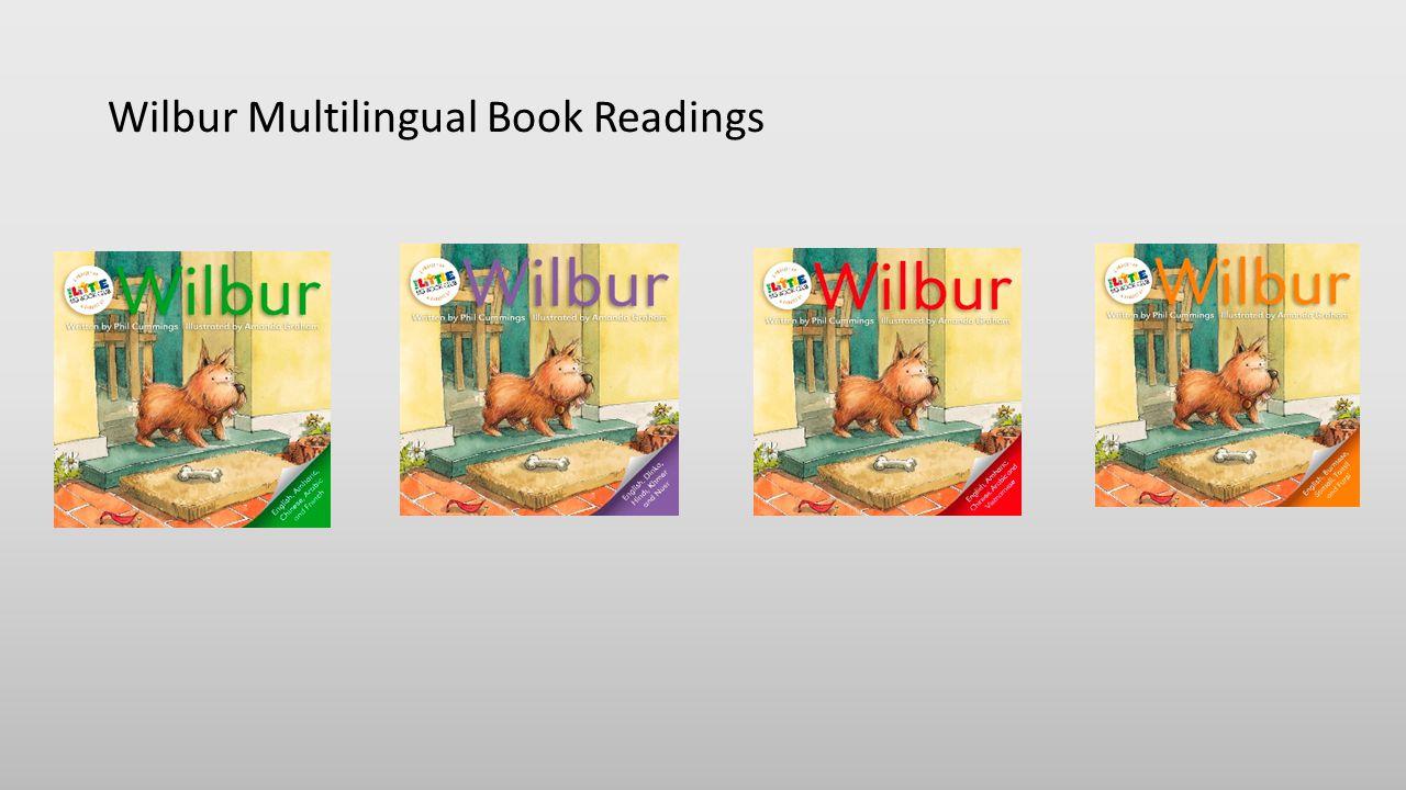 Wilbur Multilingual Book Readings