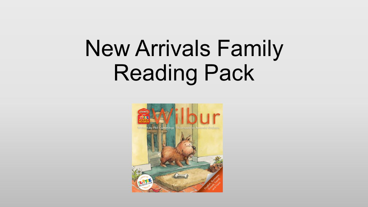New Arrivals Family Reading Pack