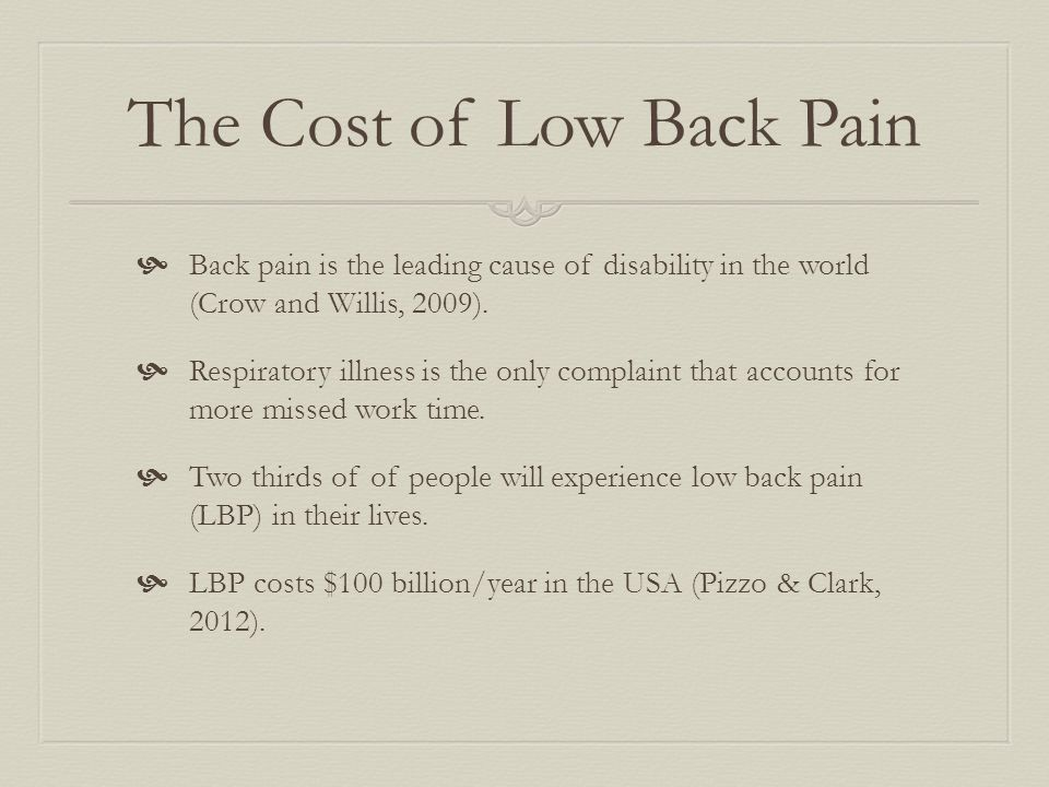 Providers  There are fewer than 4,000 physician pain management providers in the USA (Pizzo and Clark, 2012).