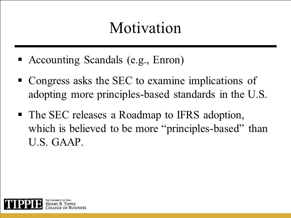 Motivation (cont.)  There is little evidence on the implications of such a shift.