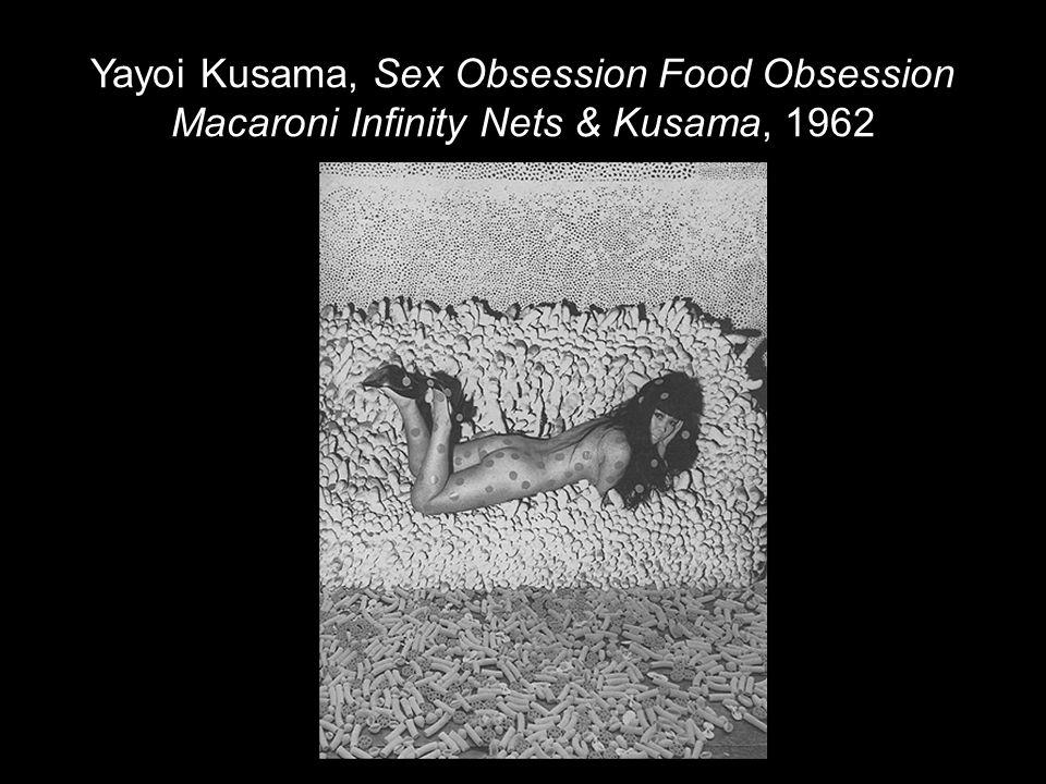 Yayoi Kusama, Sex Obsession Food Obsession Macaroni Infinity Nets & Kusama, 1962