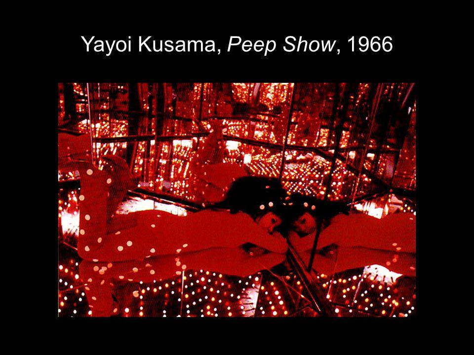Yayoi Kusama, Peep Show, 1966