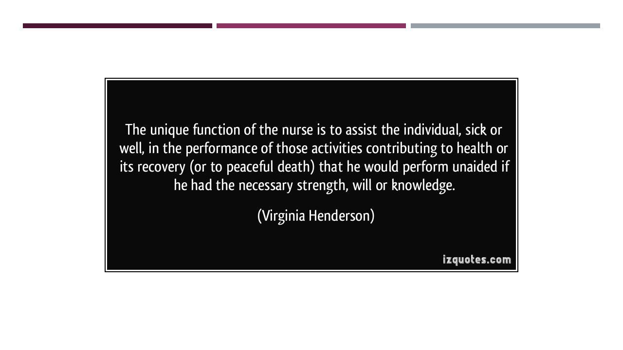 REFERENCES  1 Clark, J.(1997). The unique function of the nurse.