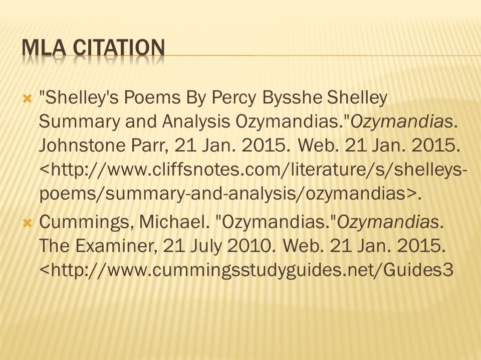 Shelley s Poems By Percy Bysshe Shelley Summary and Analysis Ozymandias. Ozymandias.