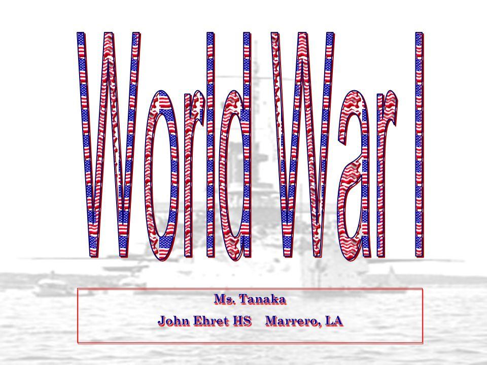 Ms. Tanaka John Ehret HS Marrero, LA Ms. Tanaka John Ehret HS Marrero, LA