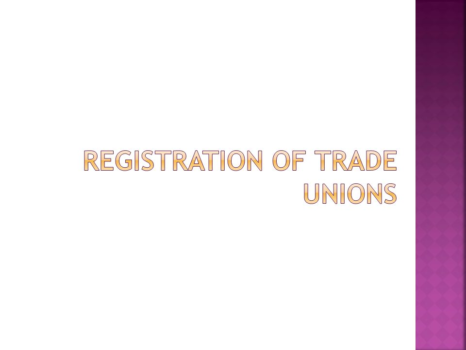 The Act empowers the appropriate government to appoint a person to be the Registrar of Trade Unions for each state.