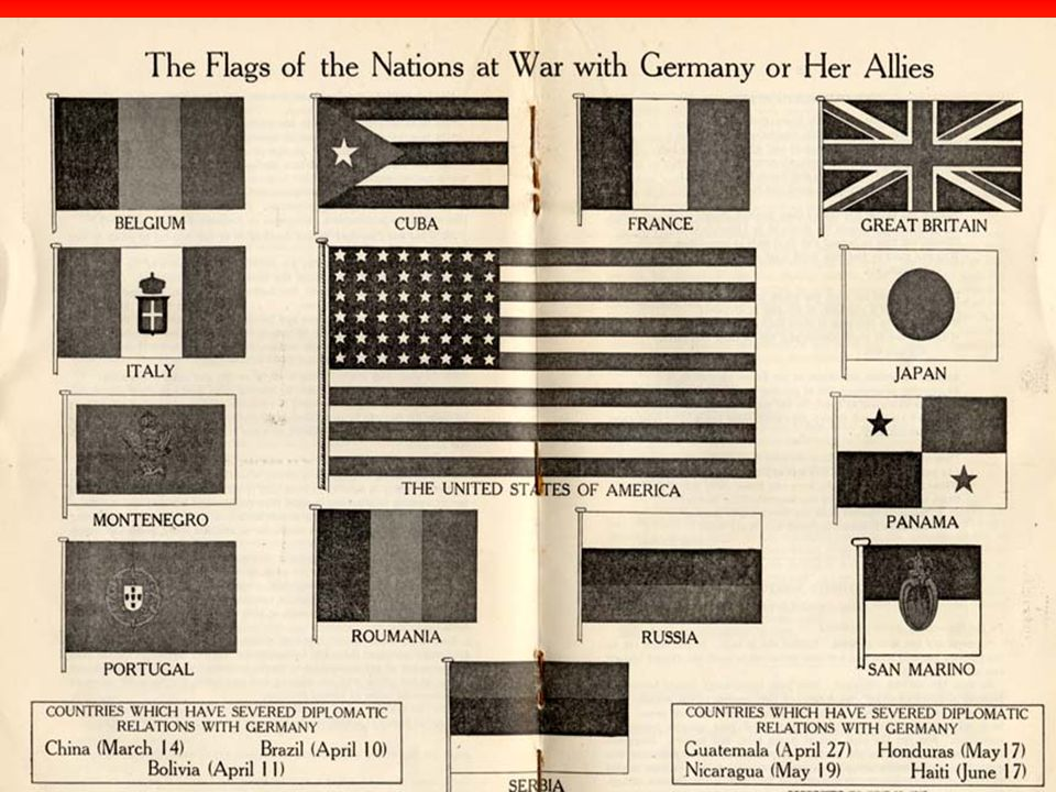 The Participants The peace conference at Versailles did not include:The peace conference at Versailles did not include: –The defeated Central Powers –