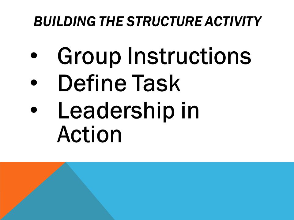 THE POINT Effective leaders: Communicate well Listen to colleagues Provide clear directions Build Trust What else?