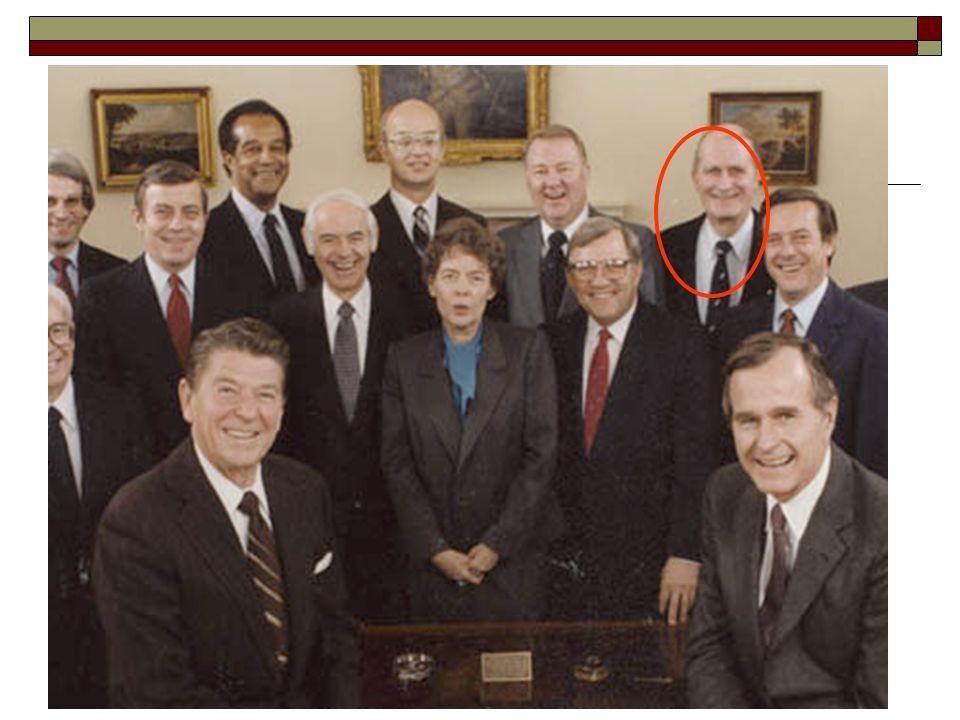 Reagan's Cabinet