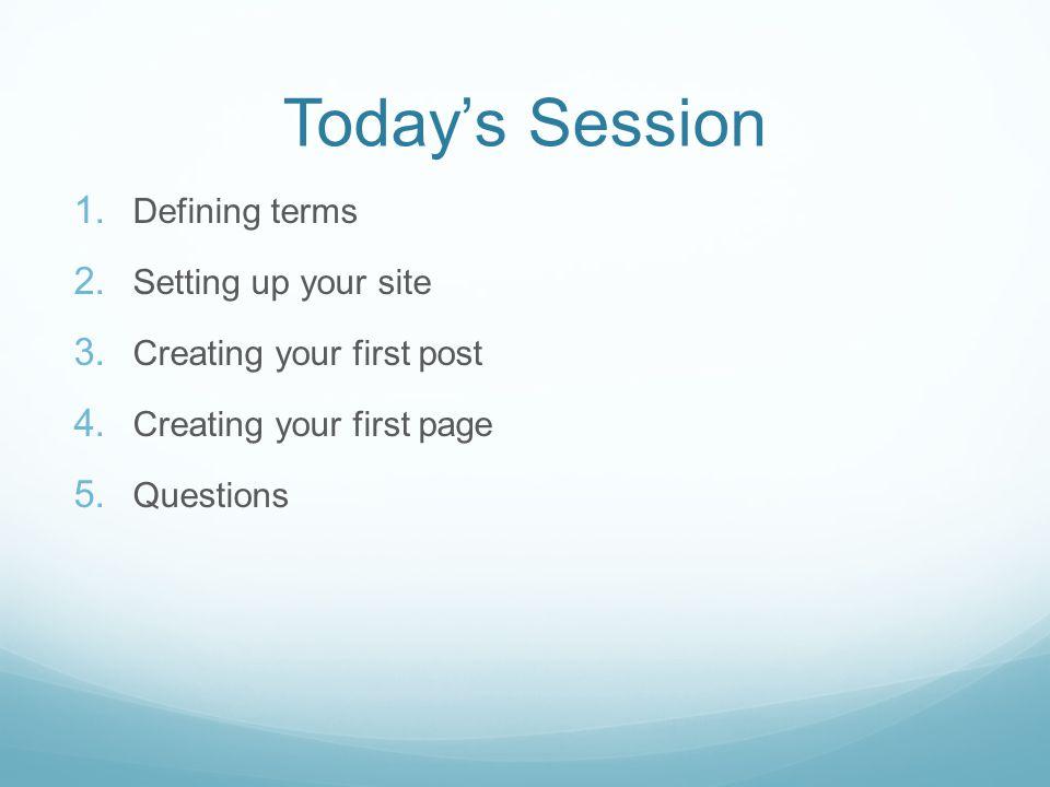 Why WordPress.
