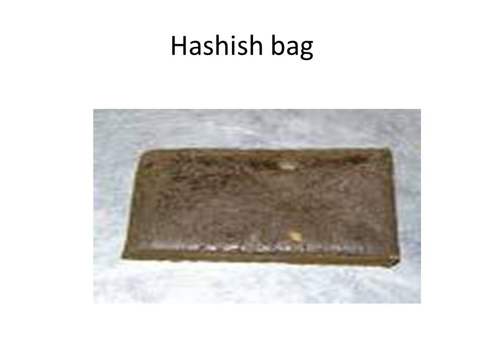 Hashish bag