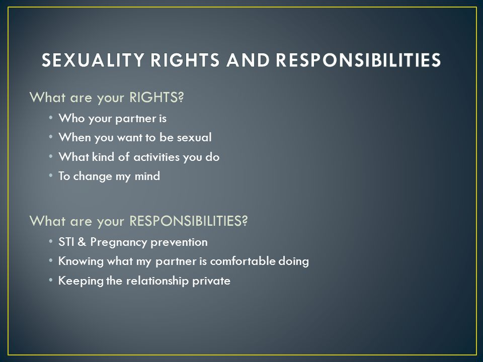 What are your RIGHTS.