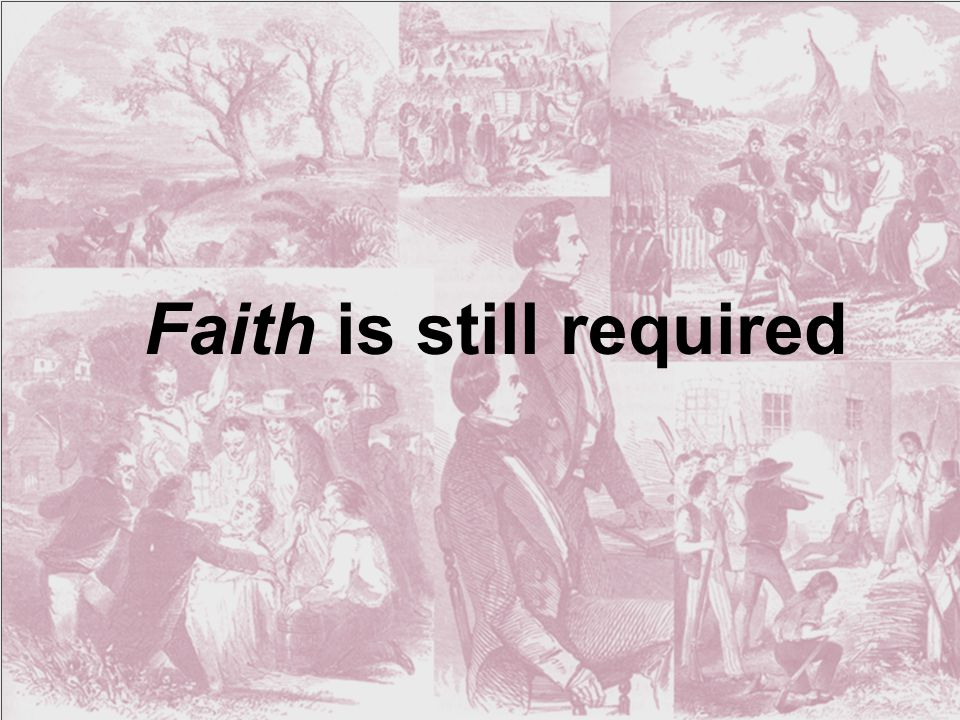 The believer's interpretation is based upon faith that theology drove the process.