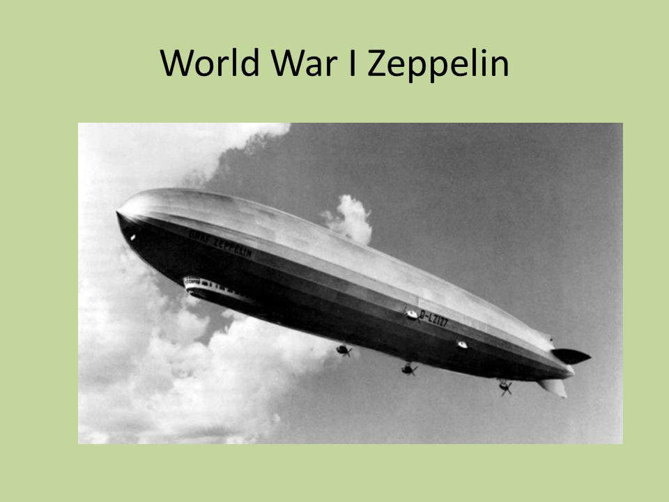 World War I Zeppelin