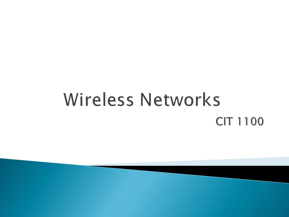 Currently Wi-Fi is the most widely adopted type of wireless networking used by homes, public places, coffee shops, libraries…  Only wireless devices that conform to the extended versions of the 802.11 standard- 802.11a, 802.11b, 802.11g, and 802.11n- are Wi-Fi certified  Certification comes from the Wi-Fi Alliance, a nonprofit industry group made up of more than 175 member companies designing and manufacturing wireless networking products  Most wireless equipment will communicate with different devices, 802.11b will communicate with 802.g, the exception is 802.11a which operates on a different frequency