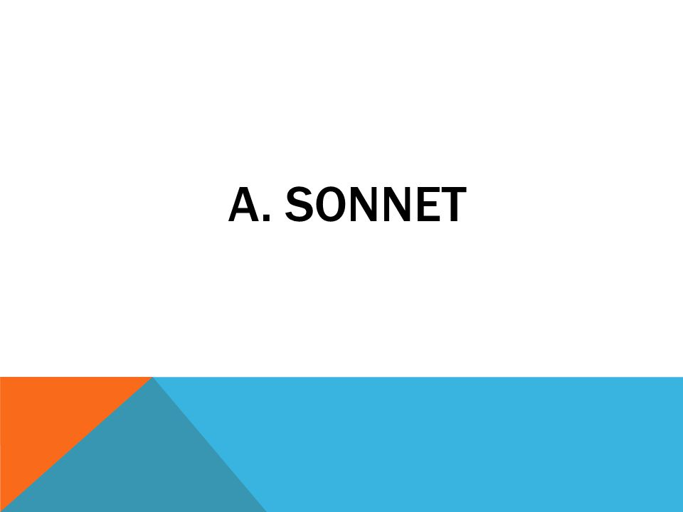 A. SONNET