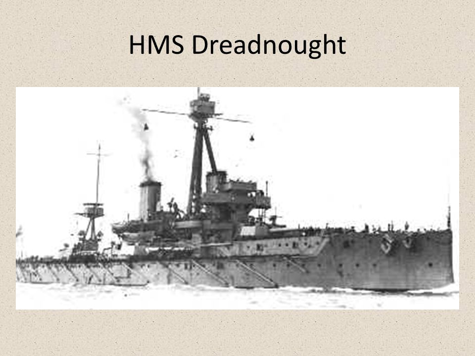 Militarism- Navy Britain vs. Germany Competition to create the most Dreadnoughts – Britain makes 29 – Germany makes 17 Germany starts making U-Boats