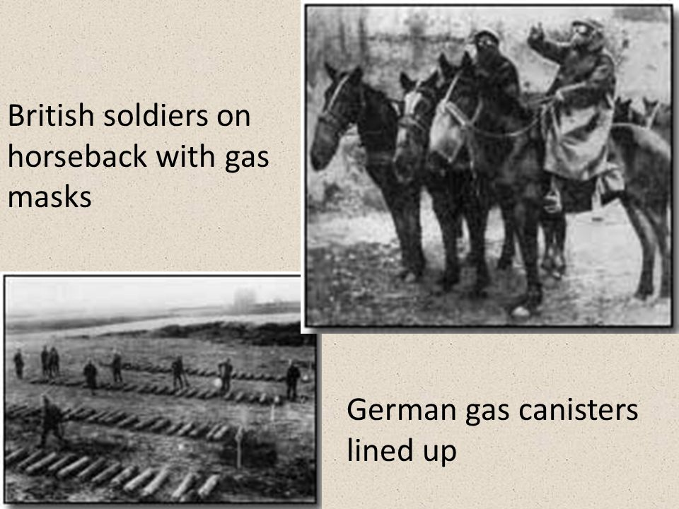 Poison gases France first uses mustard gas German uses gas frequently – Chlorine gas – Mustard gas – Tear gas