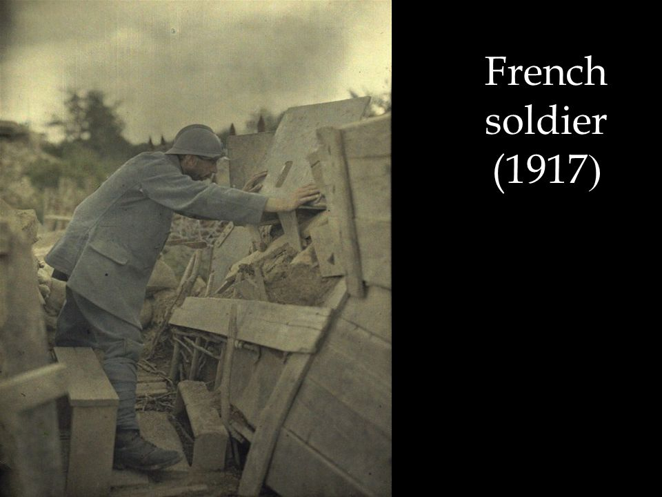 French soldier (1917 )