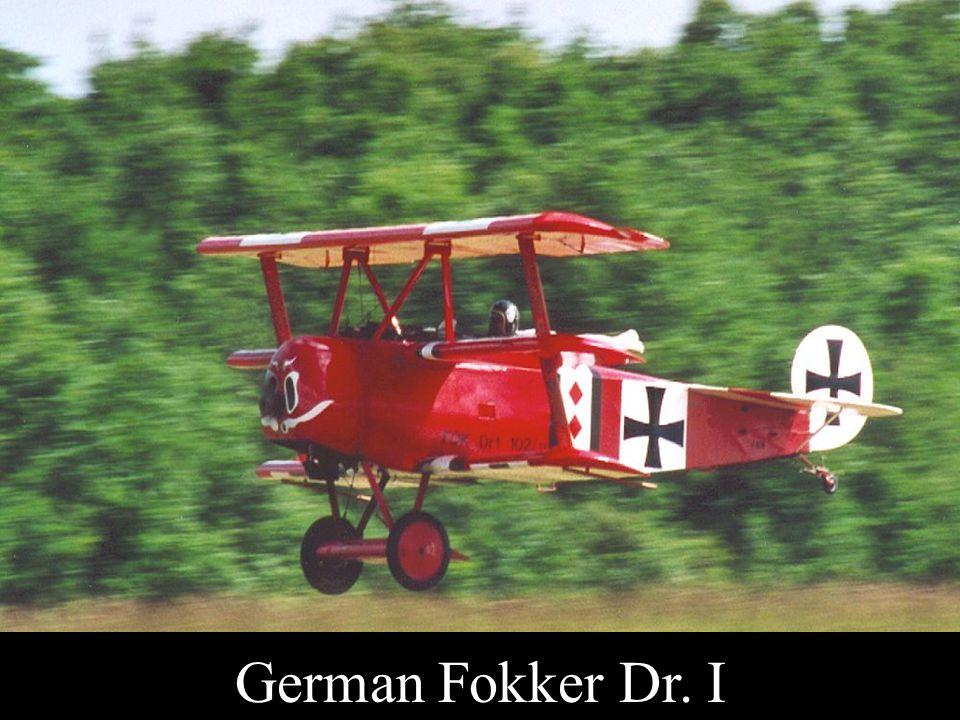 German Fokker Dr. I